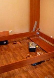 Шкаф-кровать своими руками (19 фото)