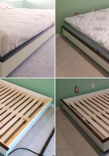 Инструкция по изготовлению кровати своими руками из разных материалов
