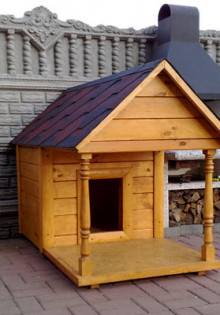 Собачья будка своими руками — пошаговая инструкция + Фото