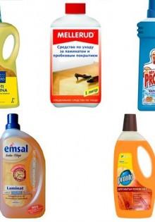 Средства для мытья ламината в доме, чем его лучше мыть