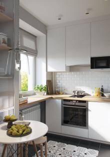 Кухни в стиле скандинавского минимализма — фотоотчеты