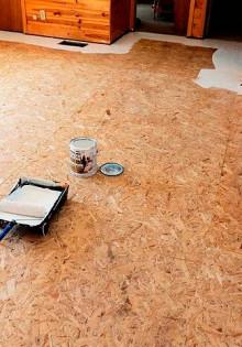 Как и чем покрасить осб плиту снаружи и внутри дома