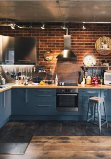 100 лучших идей: кухня в стиле лофт
