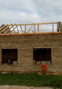 Ттк. устройство двускатной крыши при строительстве индивидуального жилого дома