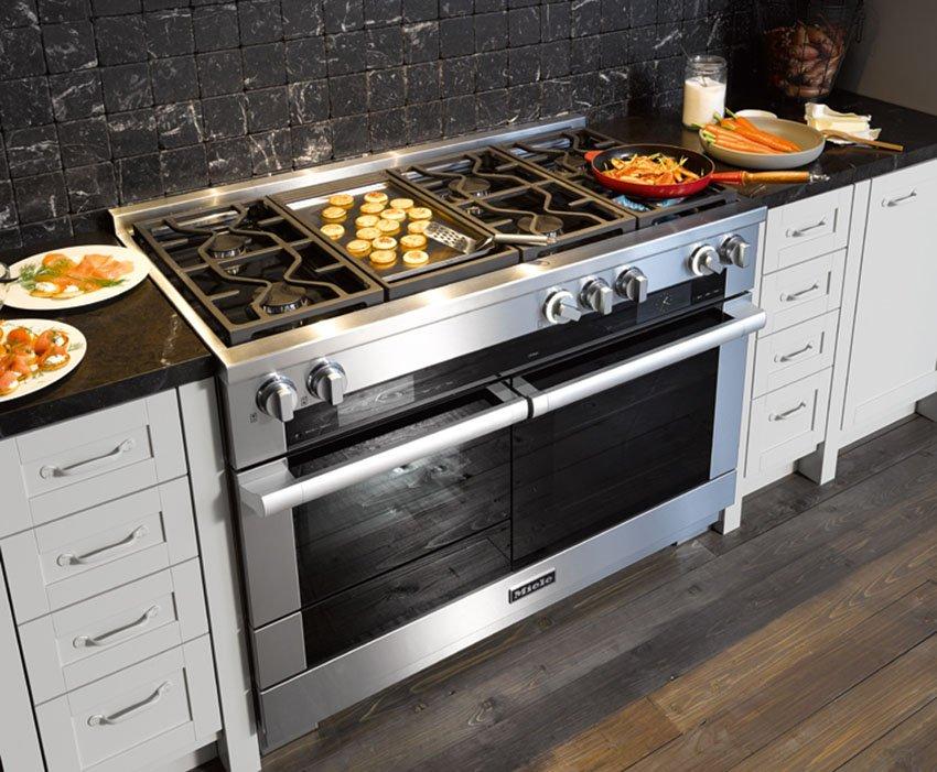 Размеры встроенных электрических духовых шкафов: стандартная ширина, глубина и высота встраиваемых духовок, особенности моделей габаритами 50-60 см