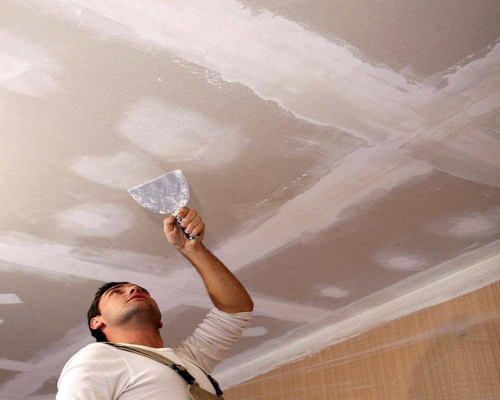 Как побелить потолок своими руками качественно известью или мелом