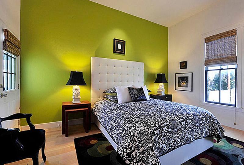 Интерьер в зеленых тонах: 50 современных вариантов дизайна, фото
