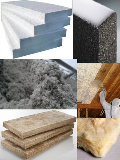 Разновидности утеплителей для каркасного дома