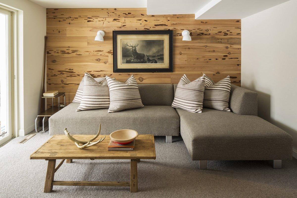 Ламинат на стене в интерьере — идеи, советы, фото реальных интерьеров