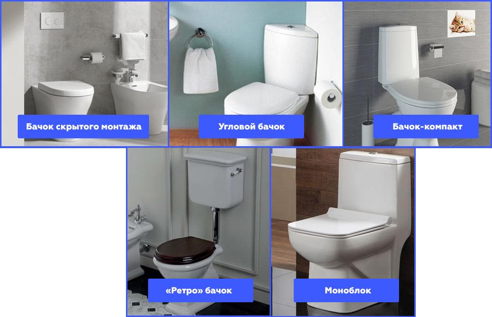 Какой унитаз выбрать: типы унитазов и их классификация