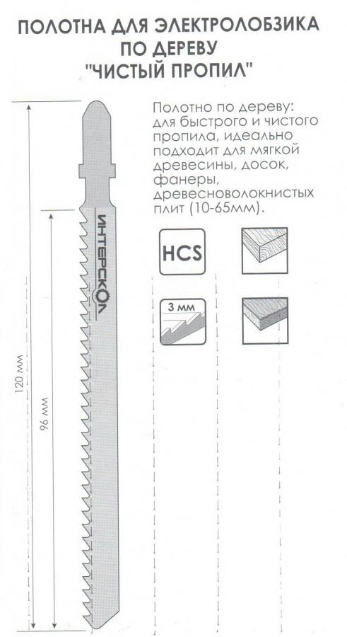 Какие виды пилок используются для электролобзика