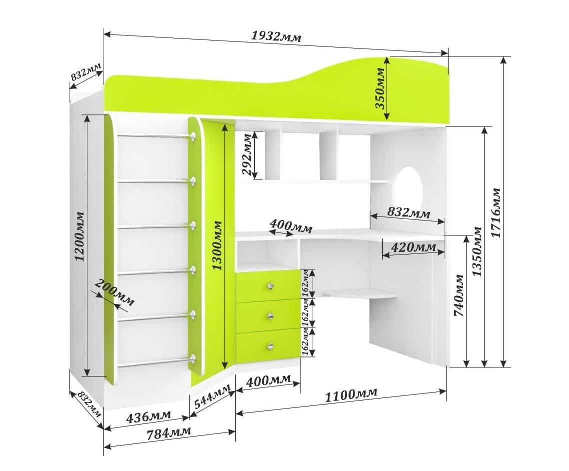 Кровать-чердак своими руками: простая инструкция по изготовлению
