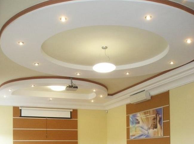 Потолок из гипсокартона (130 фото):  дизайн подвесных гипсокартонных потолочных покрытий, красивые примеры-2020 потолков из гипсокартона в интерьере