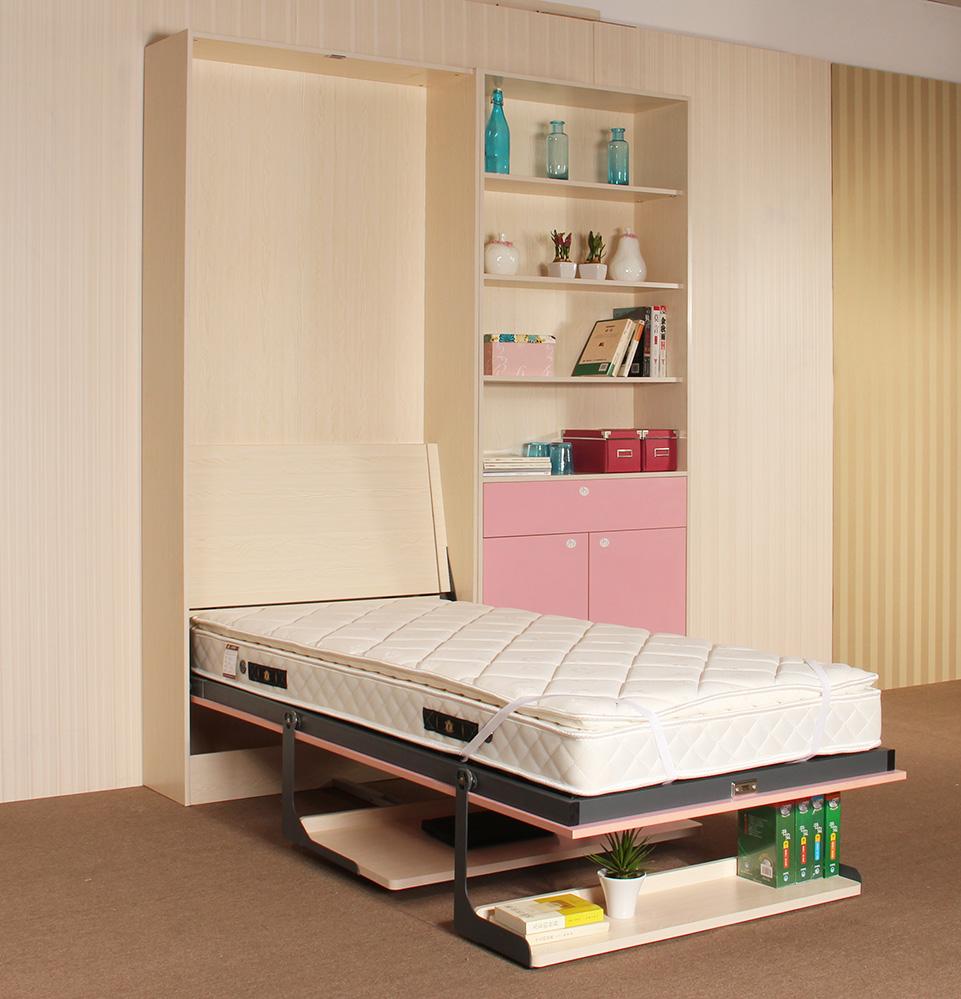 Простая и практичная откидная кровать своими руками
