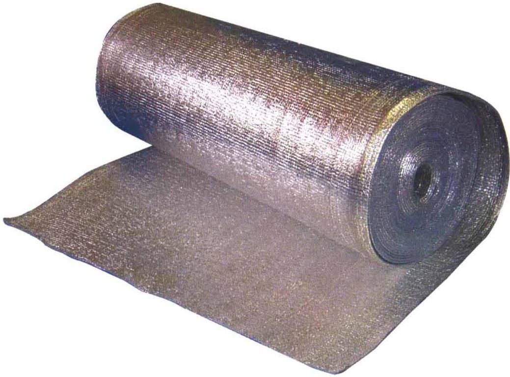 Технические характеристики фольгированного пенофола. виды материала. размеры и вес рулона.