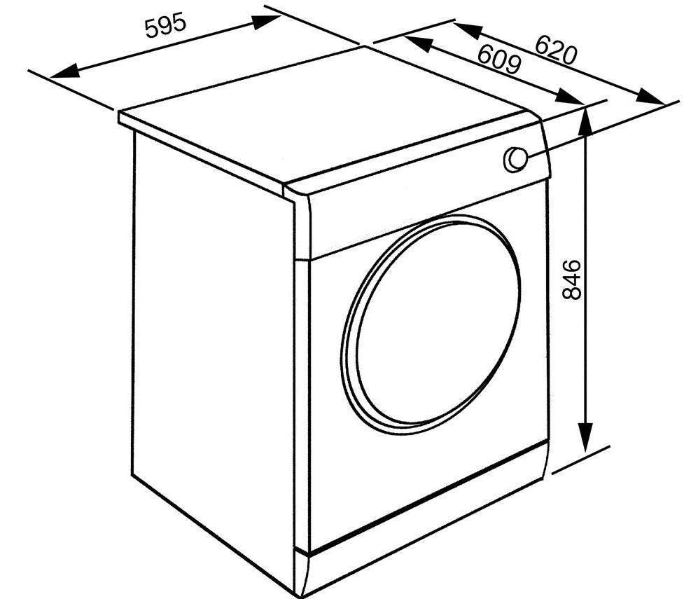 Вес белья для стиральной машины - сухое или мокрое