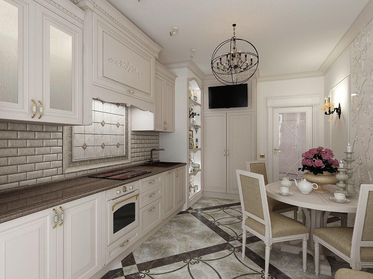 Белая кухня: эксклюзивное решение в любом стиле