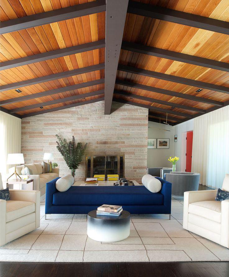Как сделать черновой потолок по деревянным балкам – варианты монтажа, инструкция