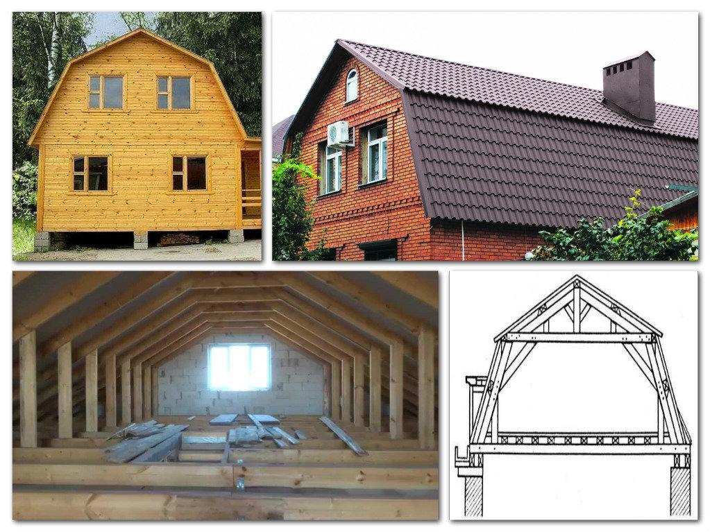 Крыша частного дома: особенности конструкции (50 фото)