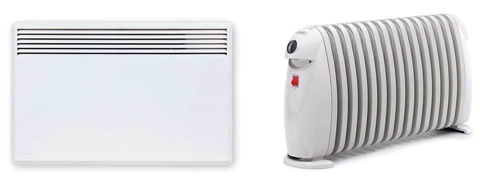 Конвектор или масляный обогреватель что лучше ? что лучше греет и экономичнее радиатор или конвектор