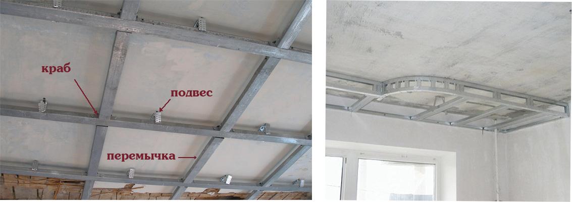 Как сделать двухуровневый потолок своими руками? инструкция и фото