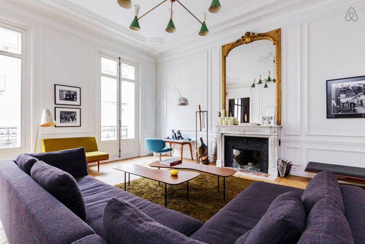 Французский интерьер квартиры. фото идеи, особенности оформления