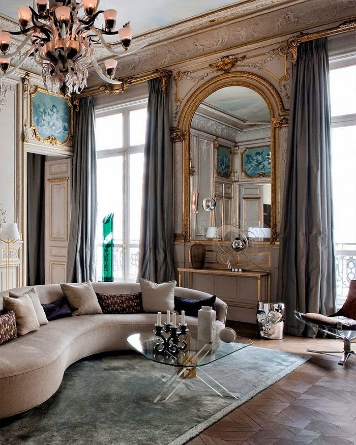 Интерьер в стиле барокко - изысканный и утончённый