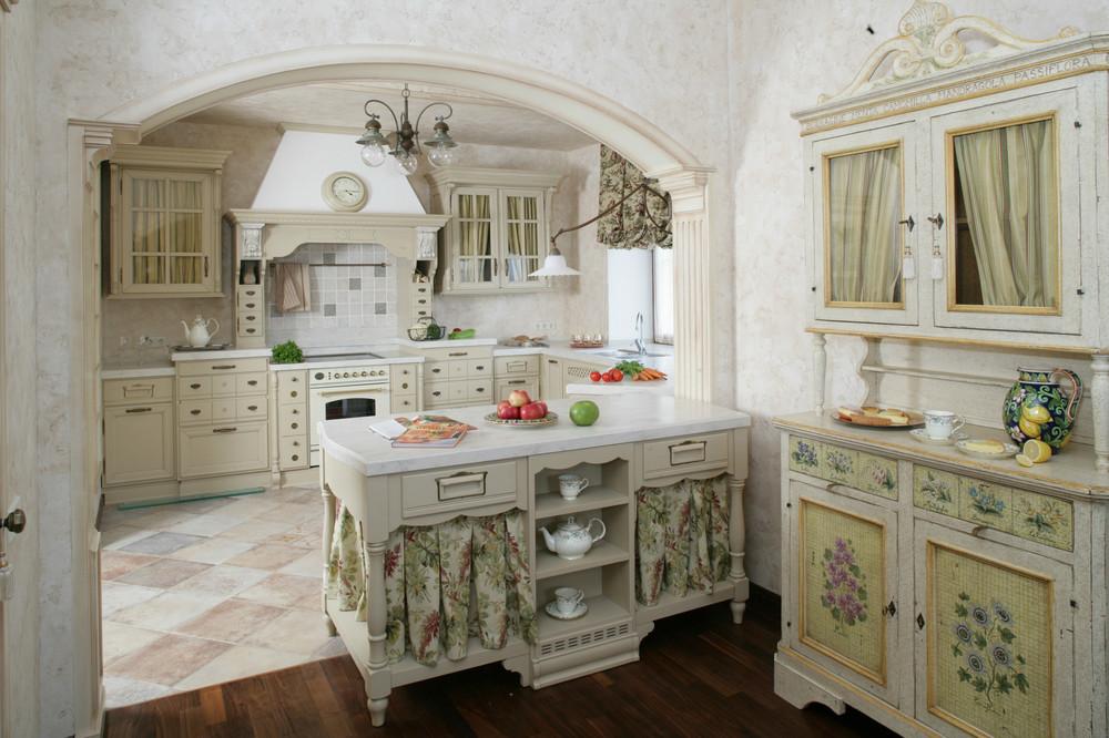 Кухня в стиле прованс: особенности дизайна, реальные фото в интерьере
