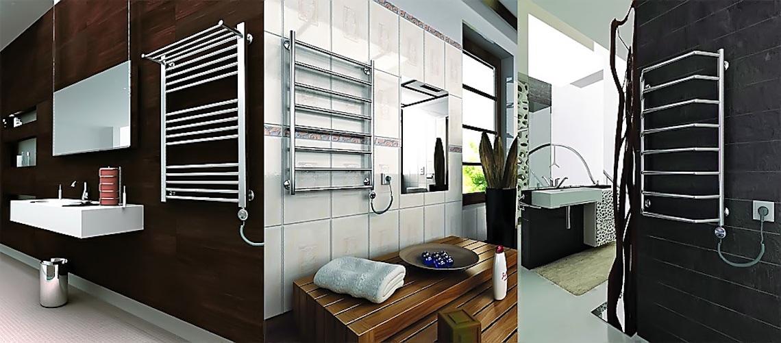 Установка полотенцесушителя в ванной: полезный аксессуар для сушки