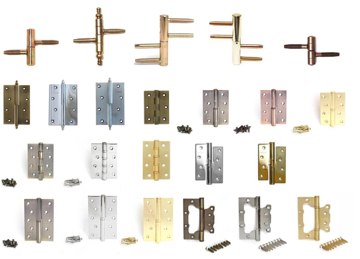 Универсальные дверные петли: виды и процесс их установки