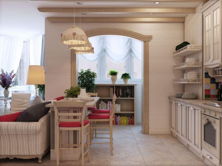 Дизайн квартиры в стиле прованс (68 фото)