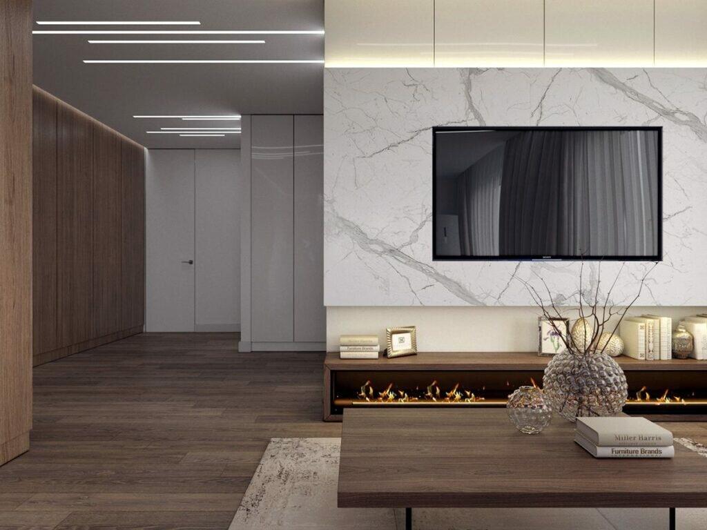 Стиль минимализм в интерьере современной квартиры - фото