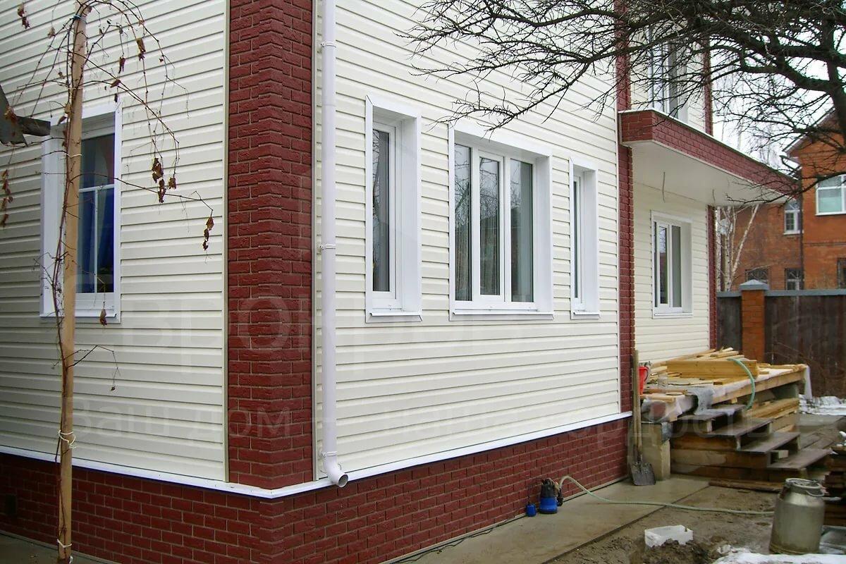 Виды сайдинга для наружной отделки: фото домов, цены