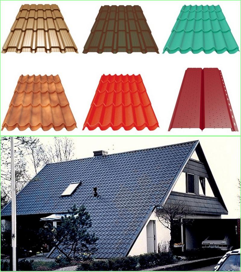 Виды кровли для крыши - классификация