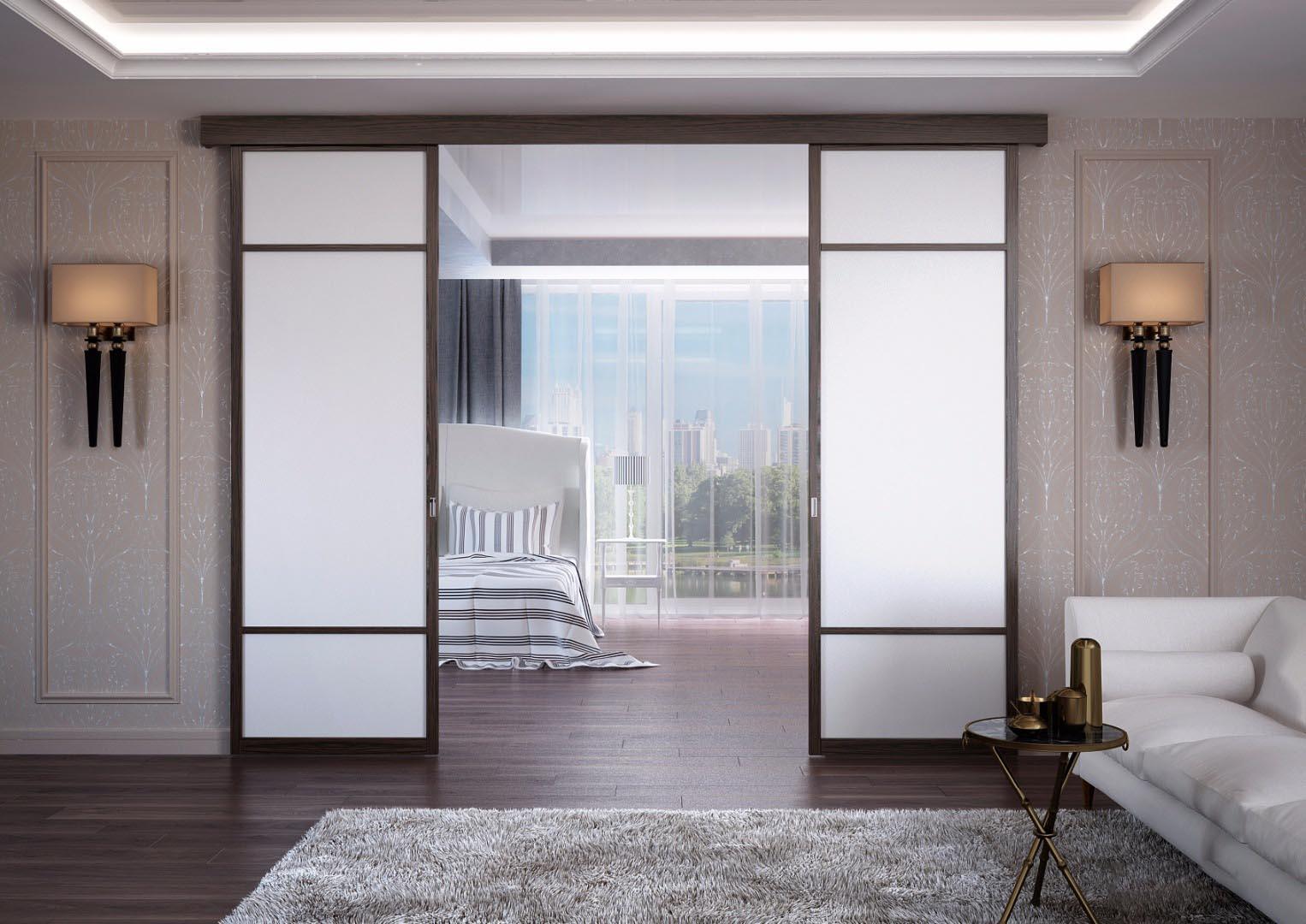 Сдвижные межкомнатные двери: преимущества и недостатки, виды, установка | двери дома