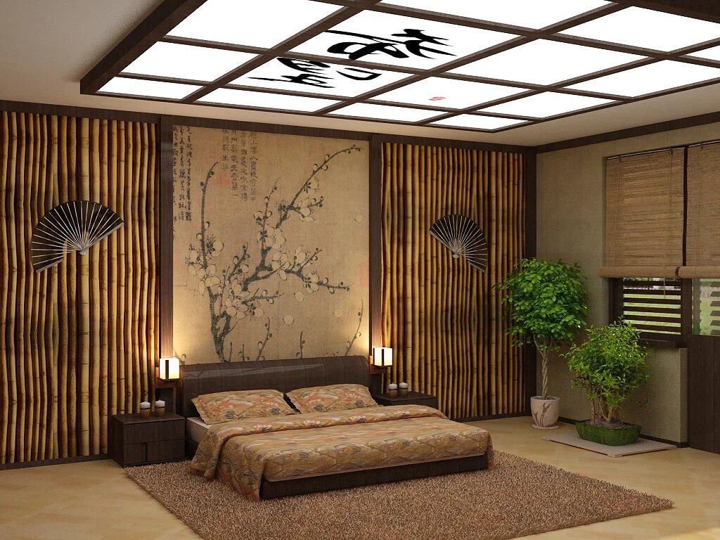 Дизайн интерьера квартиры в японском стиле - правила оформления, уникальные фото примеры