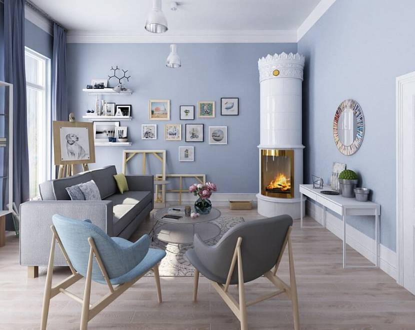 Варианты интерьера в скандинавском стиле для маленьких квартир и студий