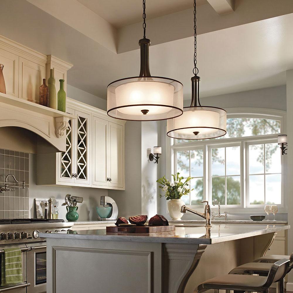 Люстры для кухни 2020 (91 фото): кухонные светильники от tiffany в интерьере, красная кухня в стиле классика