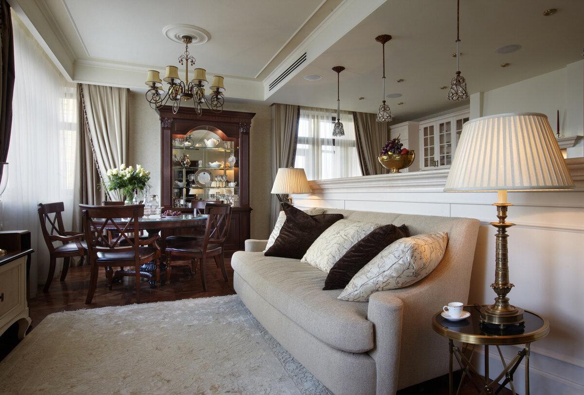 Американский стиль в интерьере квартиры или дома