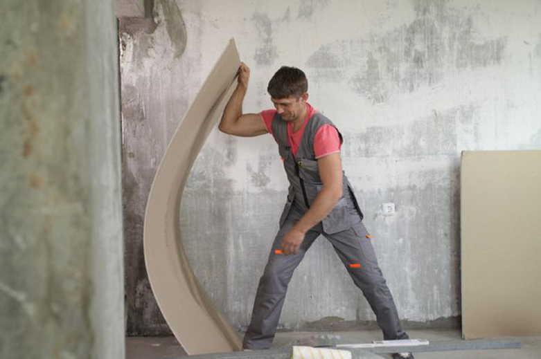 Арка из гипсокартона своими руками, пошаговая инструкция с фото и видео