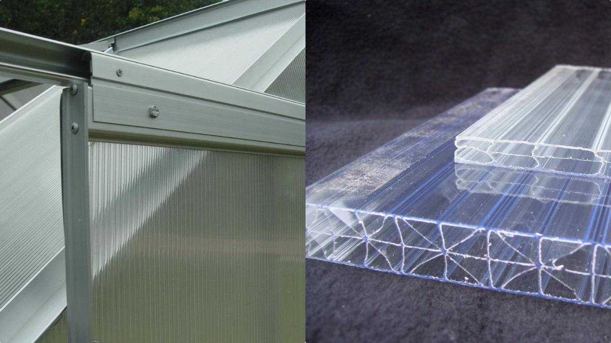 Какой поликарбонат для теплиц лучше выбрать, использовать: толщина, цвет