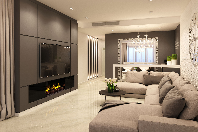 Дизайн маленькой гостиной с камином: реальные фотографии интерьера