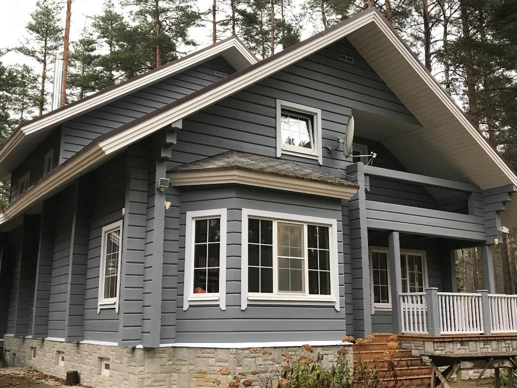 Чем покрасить деревянный дом снаружи – подробный обзор