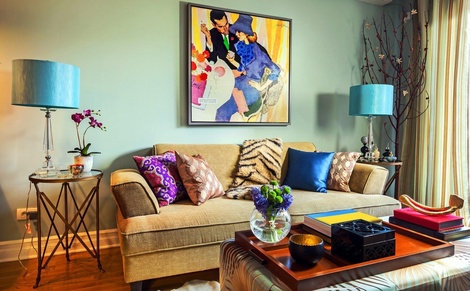 Интерьер гостиной в частном доме - различные идеи и варианты оформления