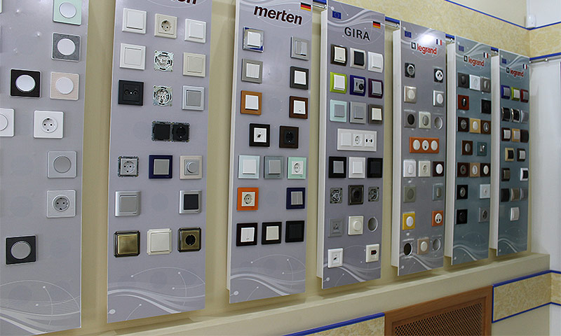 Розетки и выключатели — лучшие бренды доступной продукции