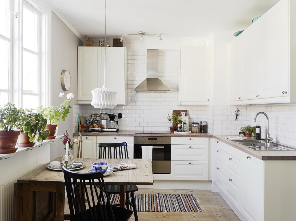 Кухня в скандинавском стиле: 115 фото оригинальных решений и вариантов оформления кухни