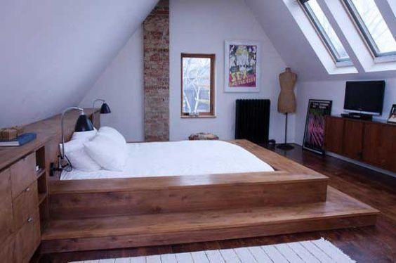 Кровать подиум – обзор лучших современных моделей и особенности их дизайна (120 фото)