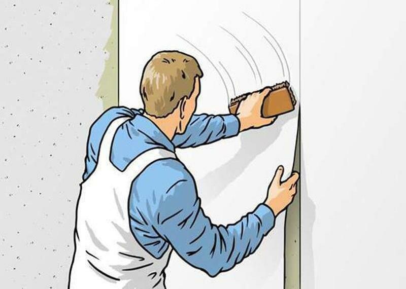 Как правильно клеить виниловые обои – подробные инструкции!