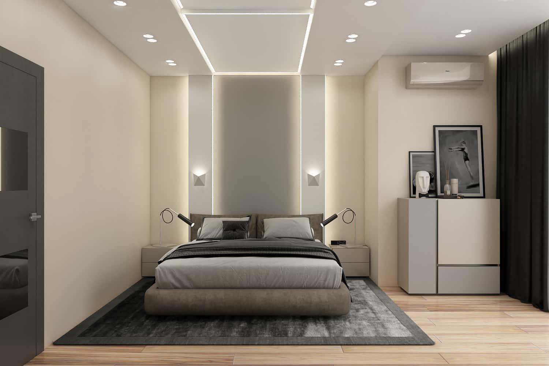 Интерьер спальни в стиле минимализм - эстетика и практичность