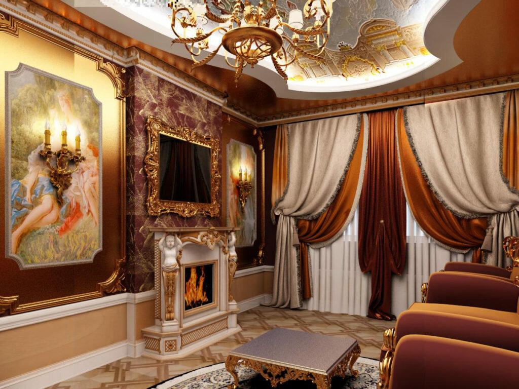 Мебель в стиле барокко: стильные примеры оформления от ведущих дизайнеров (115 фото + видео)